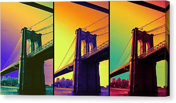 The Hardest Thing In Life To Learn Is Which Bridge To Cross  Canvas Print by Jenn Bodro