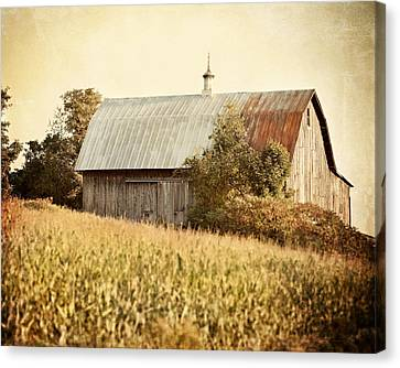 The Harvest Barn Canvas Print by Lisa Russo