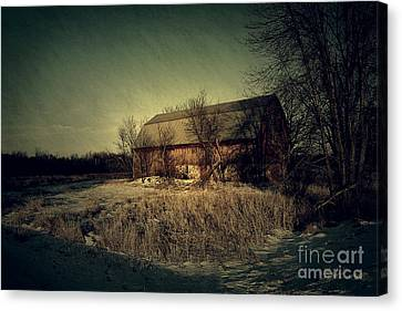 The Hiding Barn Canvas Print by Joel Witmeyer