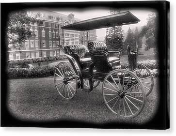 The Homestead Carriage I Canvas Print by Steven Ainsworth