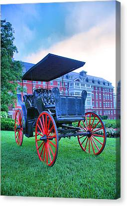 The Homestead Carriage II Canvas Print by Steven Ainsworth