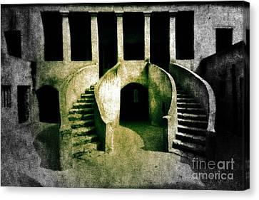 The House Of Slaves Canvas Print by Fania Simon
