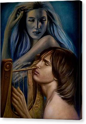 The Inspiration Canvas Print by Ricardo Giraldez