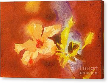 The Iris Flower Canvas Print by Odon Czintos