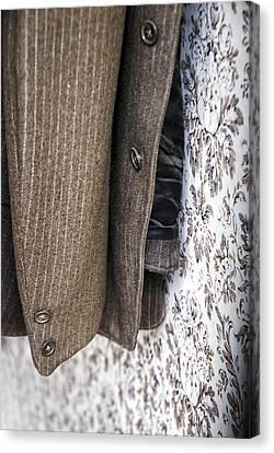 The Jacket Canvas Print by Wayne Stadler