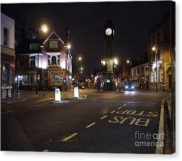 The Jewellery Quarter Canvas Print by John Chatterley