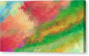 The Journey Canvas Print by Deborah Benoit