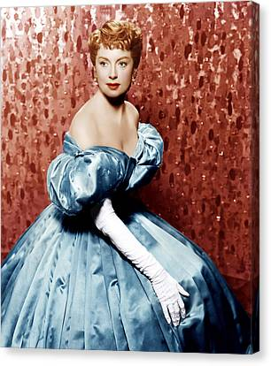 The King And I, Deborah Kerr, 1956 Canvas Print by Everett