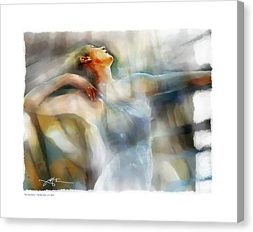 The Last Dance Canvas Print by Bob Salo