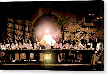 the Last Supper Canvas Print by George Pedro