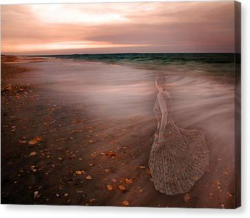 The Last Time I Saw Her Canvas Print by Betsy Knapp