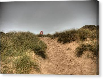 The Lifebelt 2 Canvas Print by Steve Purnell