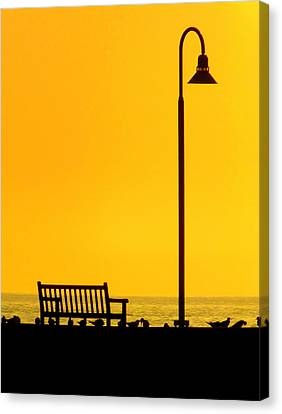The Long Wait Canvas Print by Karen Wiles