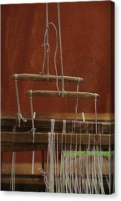 The Lot Of The Weaver Canvas Print by Odd Jeppesen