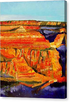 The Magnificent Grand Canyon 2 Canvas Print by FS Boric
