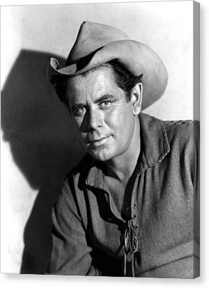 The Man From The Alamo, Glenn Ford, 1953 Canvas Print by Everett