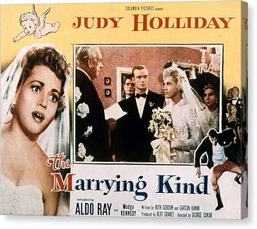 The Marrying Kind, Aldo Ray, Judy Canvas Print by Everett