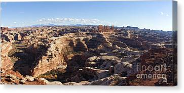 The Maze  Overlook Canvas Print by Scotts Scapes