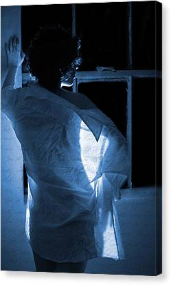 The Muse- She Moves Like Poetry Canvas Print by Nyla Alisia