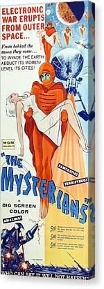 The Mysterians, Insert Poster Art, 1957 Canvas Print by Everett