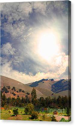 The Niles Sign In The Hills Of Niles California . 7d12707 Canvas Print by Wingsdomain Art and Photography