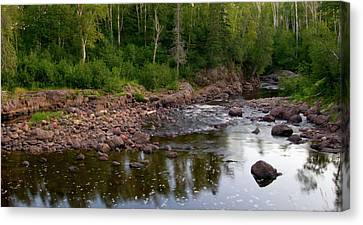 The North Woods Canvas Print by Steve Stuller
