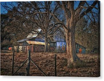 The Old Barn Canvas Print by Brenda Bryant