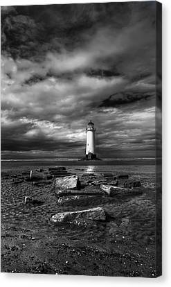 The Old Lighthouse  Canvas Print by Adrian Evans