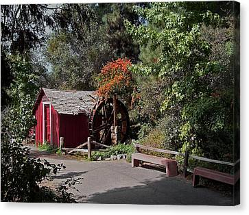 The Old Mill 1 Canvas Print by Ernie Echols