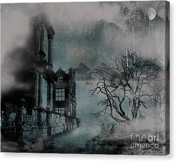 The Old Ruins Canvas Print by Cheryl Young