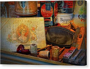 The Old Smoke Shop Canvas Print by Dave Mills