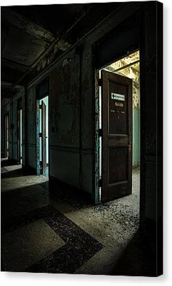 The Open Doors Canvas Print by Gary Heller