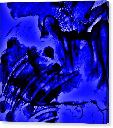 The Origins Of Blue Canvas Print by Rory Sagner