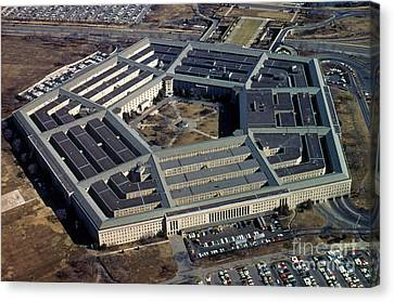 The Pentagon Canvas Print by Photo Researchers