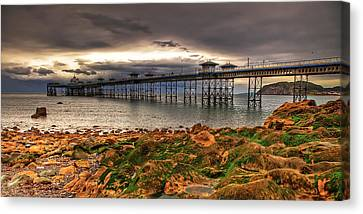 The Pier Canvas Print by Adrian Evans