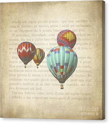 The Printed Page 7 Canvas Print by Jan Bickerton