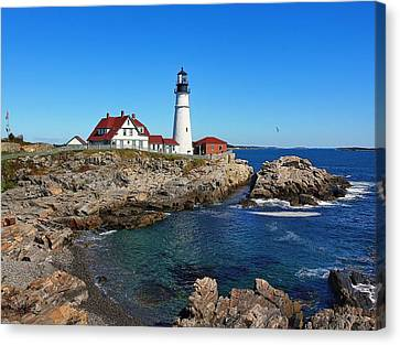 The Quintessential Maine Canvas Print by Lanis Rossi