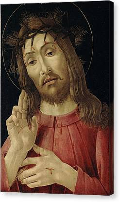 The Resurrected Christ Canvas Print by Sandro Botticelli
