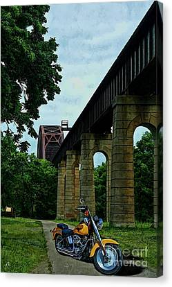 The Ride Canvas Print by Tommy Anderson
