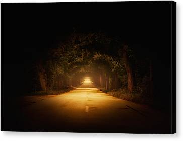 The Road To.... Canvas Print by Marek Czaja