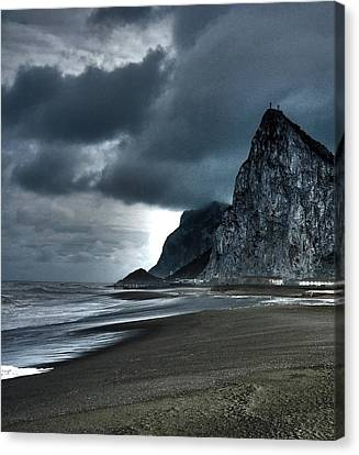 The Rock ... Canvas Print by Juergen Weiss