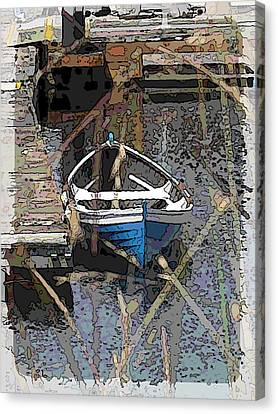 The Rowboat Canvas Print by Tim Allen