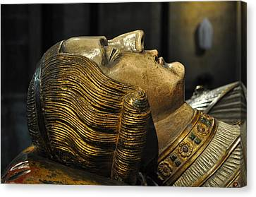 The Royal Tomb Of Count Gerard Van Gelder Iv Canvas Print by Mary Machare