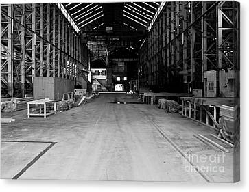 The Shed Canvas Print by John Buxton