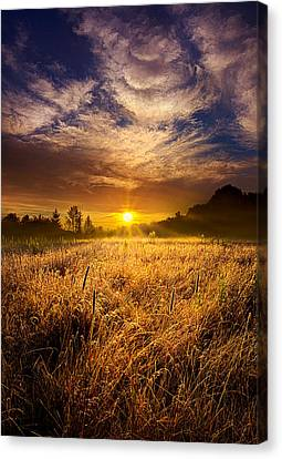 The Shining Canvas Print by Phil Koch