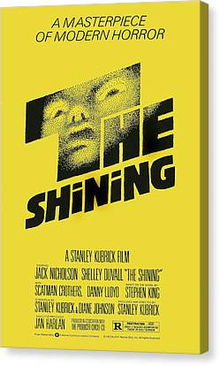 The Shining, Poster Art, 1980 Canvas Print by Everett