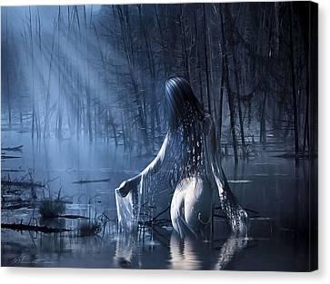 The Siren Canvas Print by Svetlana Sewell