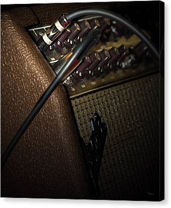 The Sound Of Vintage Tweed  Canvas Print by Steven  Digman