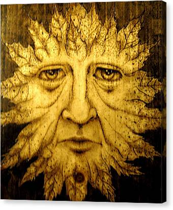 The Spirit Face  Canvas Print by Keven Shaffer