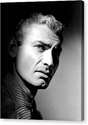 The Spoilers, Jeff Chandler, 1955 Canvas Print by Everett